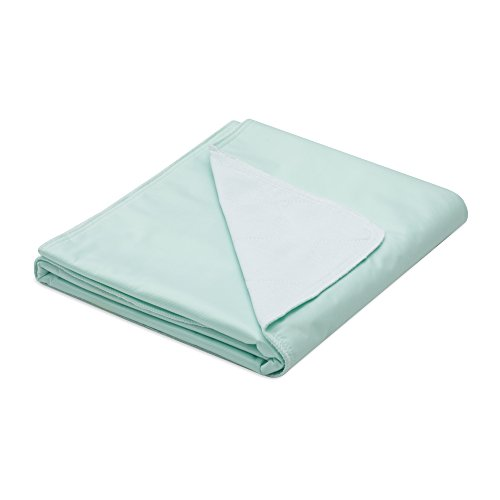 Reusable Commercial Quality Ultra Waterproof Sheet and Mattress Pad Protector, All Sizes, 10 Cups Absorbency, Made in America. (34x36)