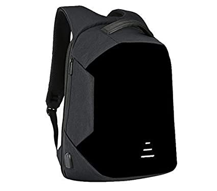 afcdd82a53e Kossh KI- Bag 2018 30-Litre Anti-Theft Waterproof Casual Backpack with USB  Charging Point (Black)  Amazon.in  Computers   Accessories
