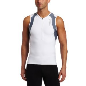 2XU Men's Long Distance Aero Tri Singlet by 2XU
