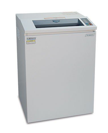 "FORMAX FD 8602CC OnSite Office Cross-Cut Shredder, 5/32"" x"