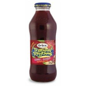 Grace Tropical Rhythms Sorrel Ginger Juice 16 Oz. (12 Pack)