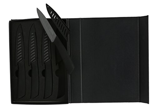 Melange 8 Piece Ceramic Handle Knives product image