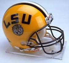 LSU Tigers Riddell Full Size Authentic Helmet