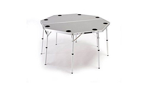 World Outdoor Products Original OCTAGON Portable Folding Multi-Function, Dining and Game Table