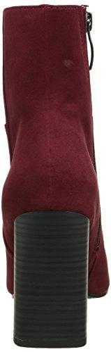 Tamaris 25062, Botines para Mujer Rojo (BORDEAUX 549)