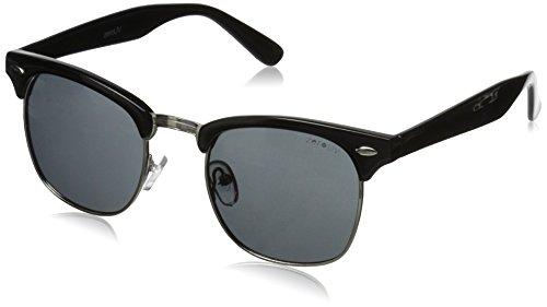 zeroUV ZV-2936j Polarized Wayfarer Sunglasses Black 49 mm