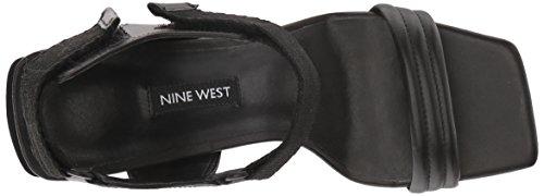 West multi Sandales Nine Black À Femmes Talon pnqxSdBO