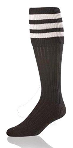 TCK Classic Official (Soccer) Socks (Black, Medium) - Referee Socks Costume