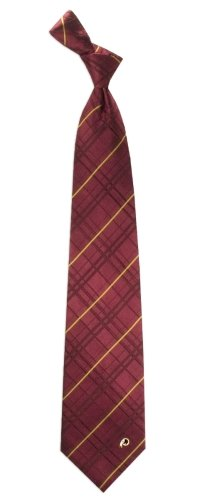 NFL Washington Redskins Men's Woven Silk Oxford Necktie, One Size, Multicolor