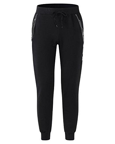Noir Pants Survêtement Pantalon Sarouel Slim Bas Sport Jogging Homme Sweat Modchok De ZTPFPx