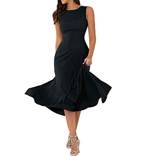 Elegant Sleeveless Round Neck Evening Dress Empire Waist Bridesmaid Dress Toponly