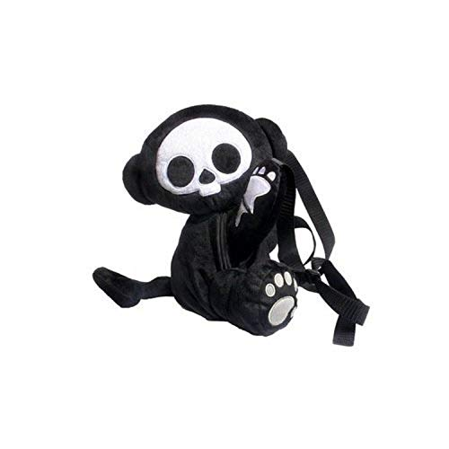 Skelanimals: Marcy (Monkey) Deluxe Plush Backpack by Toynami