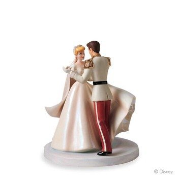 Disney WDCC Cinderella And Prince Charming Happily Ever After Cake Topper