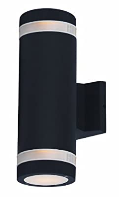 Maxim Lighting 6112 Lightray Outdoor Wall Mount, Architectural Bronze Finish, 4.25 by 12-Inch