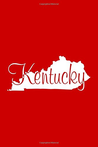 Kentucky - Red Lined Notebook with Margins: 101 Pages, Medium Ruled, 6 x 9 Journal, Soft Cover PDF