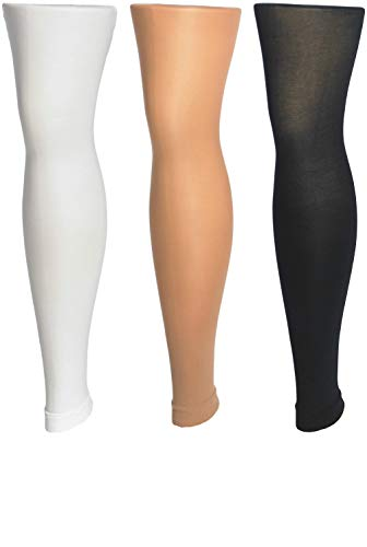 Trimfit 3 PacK Girls Multicolor Footless Tights -