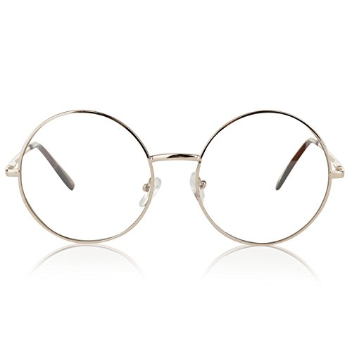 b481f4a324 Vintage Clear Transparent Oversized Glasses Womens Eyewear Unisex Eyeglasses  55