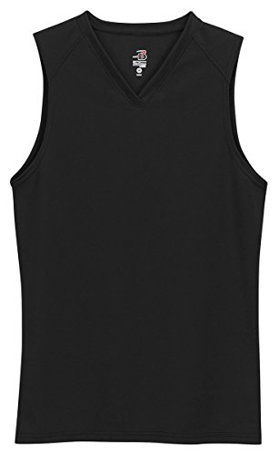 badger-sportswear-womens-b-dry-sleeveless-performance-tee-black-large
