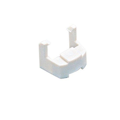 WAC Lighting JCLIP J Track 2-Circuit Conversion Clip, White