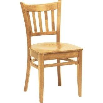 Cocina/sillas de comedor - silla madera de haya de madera acabado ...