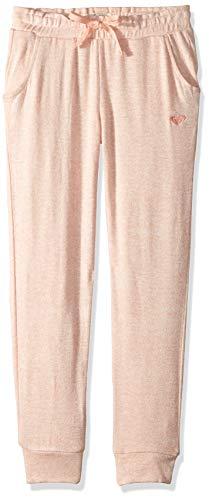 Roxy Girls' Big Flying Butterfly Cozy Sweatpants, Salmon, 12/L ()