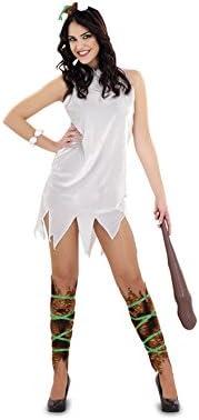 Disfrazzes - Disfraz de cavernícola para mujer talla m-l: Amazon ...