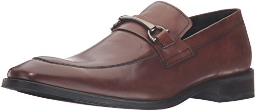 Kenneth Cole New York Mens gather-ing Slip-On Loafer Cognac
