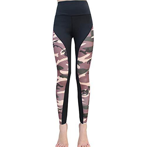 Leggings Sport De Yoga Pour Élastique Femme Camouflage Tendance 3 Noir Pantalon Trendyest HBwqaxdEH