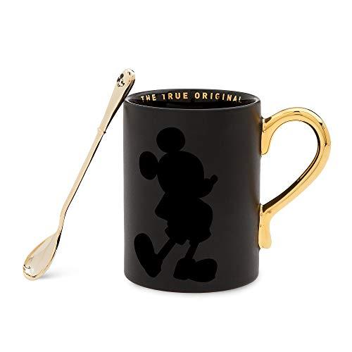 mickey mouse coffee mug black - 5