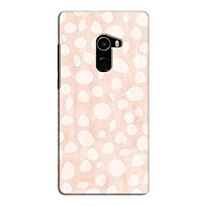 Cover It Up - Pebble Print Pink Mi Mix 2 Hard Case