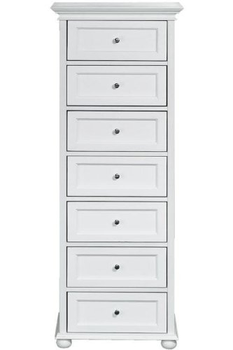quality design 96530 91f92 Hampton Bay Seven drawer Chest, 7-DRAWER, WHITE: Amazon.co ...