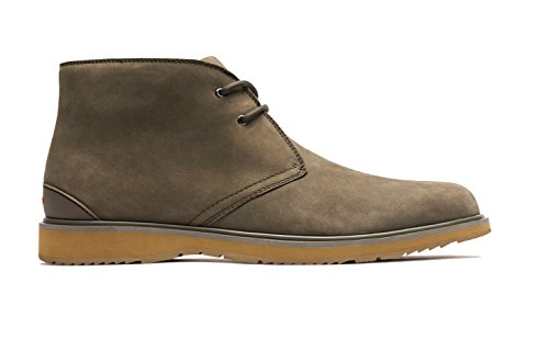 Swims Men's Barry Chukka Boot (Taupe/Biscuit, 12) by SWIMS