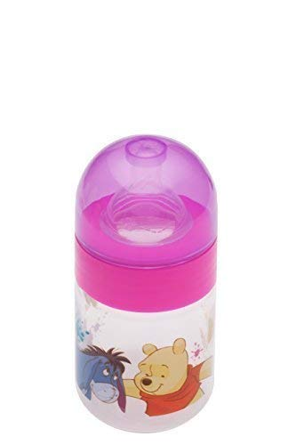 Bebé Botella De Cuello Ancho 125 ml Disney WINNIE POOH ROSA Botella ...