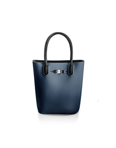 SAVEMYBAG - BORSA SAVE MY BAG POPSTAR - BALENA: BLU - 630058 - 00, ANTRACITE