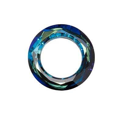 - SWAROVSKI ELEMENTS Crystal Cosmic Ring Pendant #4139 20mm Bermuda Blue (1)