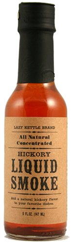Lazy Kettle Brand All Natural Liquid Smoke | Perfect for Flavoring Meat | Hickory | Used to Flavor Beef Jerky, Steak, Fish, Cheese, Sauces and More | 5 Oz Each (Best Beef Chuck Roast)