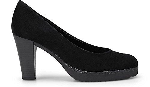 Gabor Shoes Damen Fashion Pumps, Schwarz (Schwarz (+Absatz) 77) schw.(Ra.Glitter)