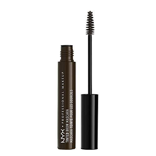 NYX PROFESSIONAL MAKEUP Tinted Brow Mascara, Black, 0.22 Fluid Ounce