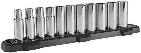 CRAFTSMAN Socket Set, SAE, 1/2-Inch Drive, 12-Point, 11-Piece (CMMT12048)