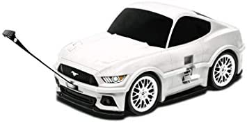 Lucky Planet Ford Mustang Kids Suitcase White