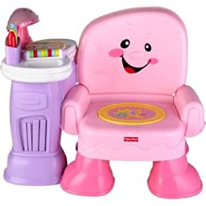 Fisher-Price Laugh & Learn Pink Musical Chair Reviews ...