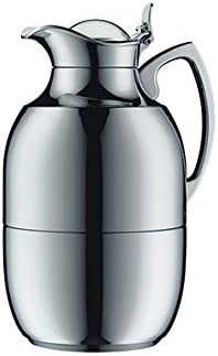 Alfi vacuum carafe Juwel Top Therm, Thermal carafe, Coffee Pot, Chrome plated brass, 1.5 Liter, 577000150
