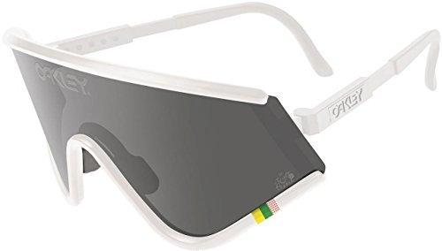 Oakley Men's Tour de France Heritage Collection Eyeshade Sunglasses - Iridium - Eyeshade Lenses Oakley