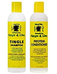 Jamaican Mango & Lime Tingle Shampoo & Protein Conditioner, 8 oz Duo