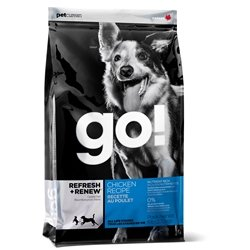 PETCUREAN 152352 Go Refresh and Renew Chicken for Dogs, 25-Pound
