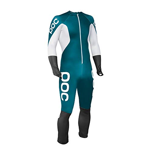 Gs Racing Suit - POC Skin GS Racing Suit, Butylene Blue/Hydrogen White, MED