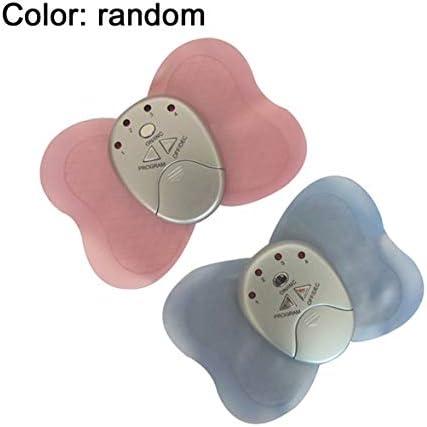 ポータブルサイズのワイヤレス電気バタフライシェイプマッサージ全身振動痩身筋肉の痛みを軽減するマッサージパッドデバイスがランダムに配信されます