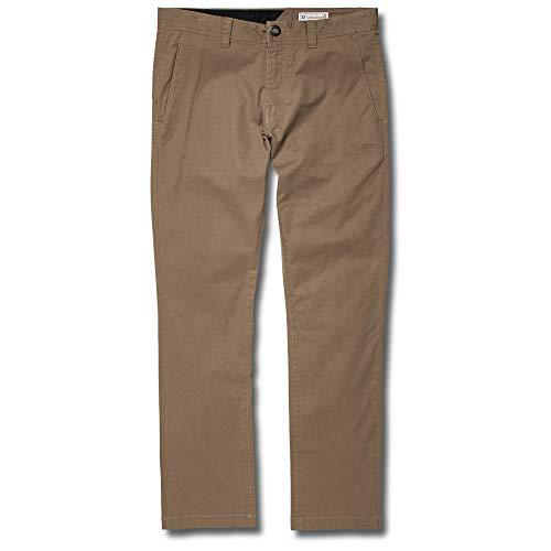 Volcom Men's Frickin Slim Chino Pant, Dark Olive 32