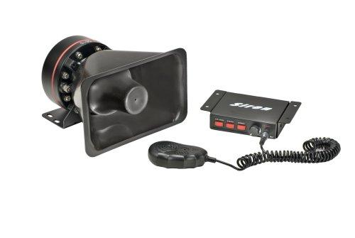 (Wolo 4000 Alert 12-Volt/50-Watt Electronic Siren and PA System)