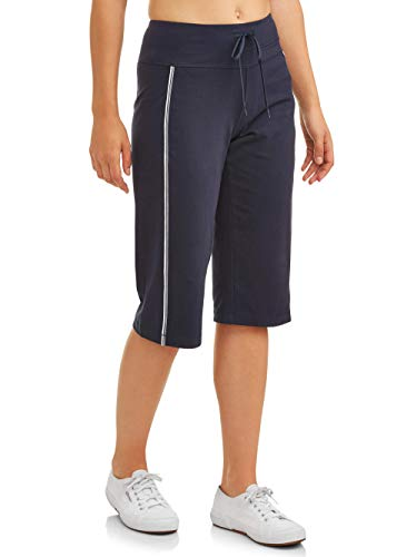 (Athletic Works Women's Dri-More Core Striped Bermuda 17